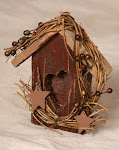 Berry Birdhouse ~ out of stock