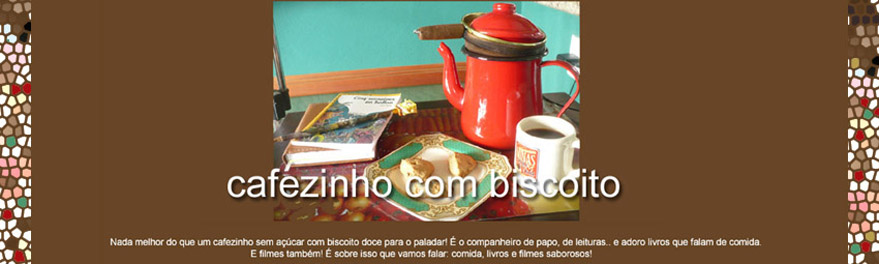 cafezinho com biscoito