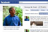 Ex presidente George W. Bush ya tiene Facebook