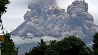 Wedhus gembel letusan Gunung Merapi