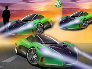 2010 Volkswagen Sports Cars - VW Solar Powered Supercar Concept