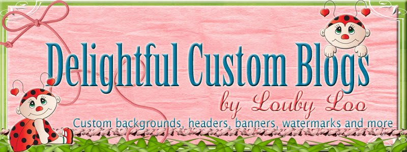 Delightful Custom Blogs by Louby Loo