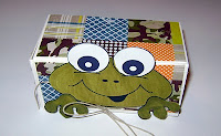 Toad Topper Box by DeNetra