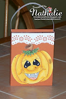 Halloween gift bag by Nathalie