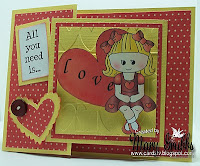 Joy Fold Valentine by Mary