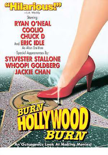 Cartel de ¡Arde Hollywood!