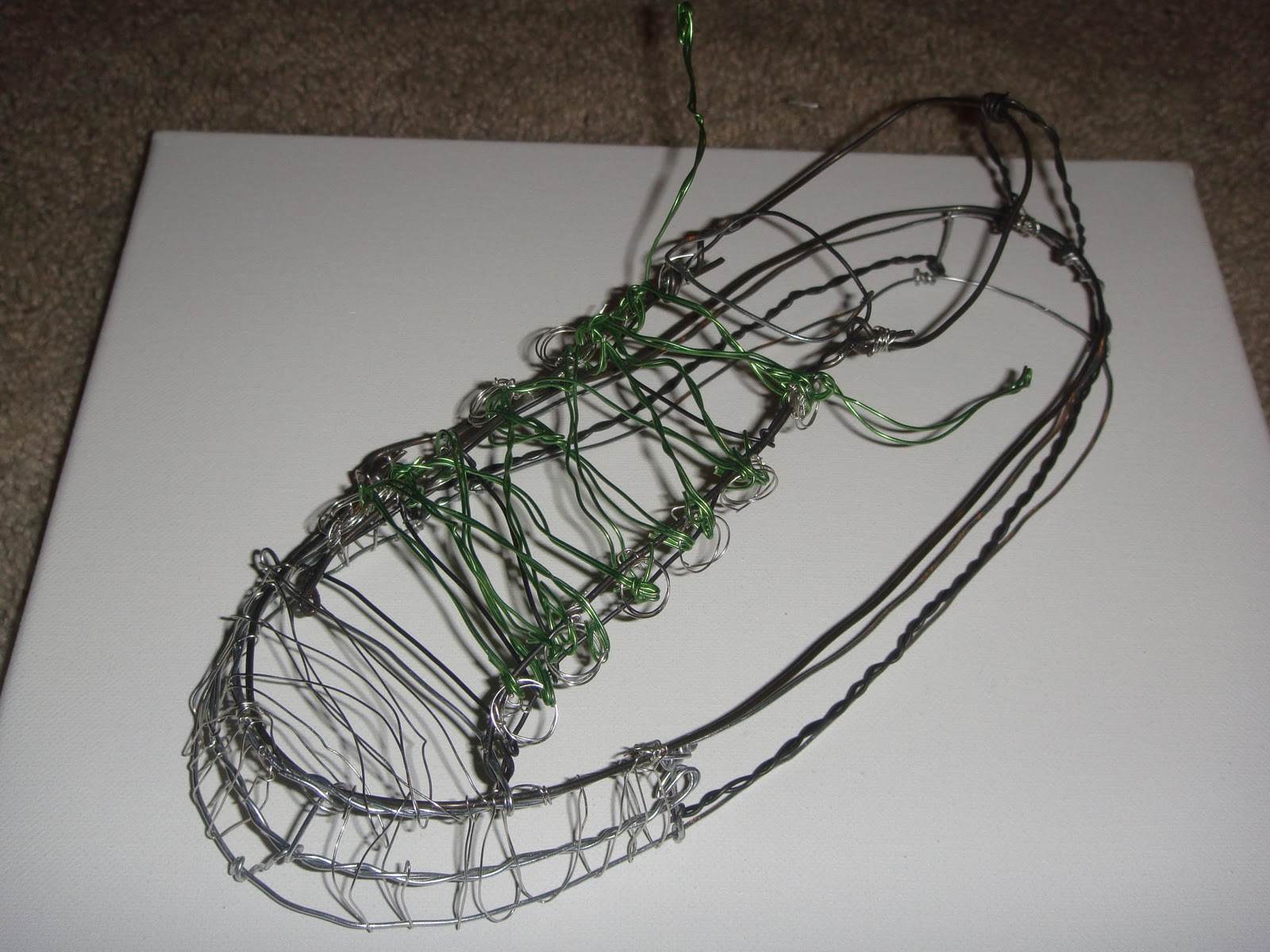 3D Studio: Cross Contour Line/Wire Assignment