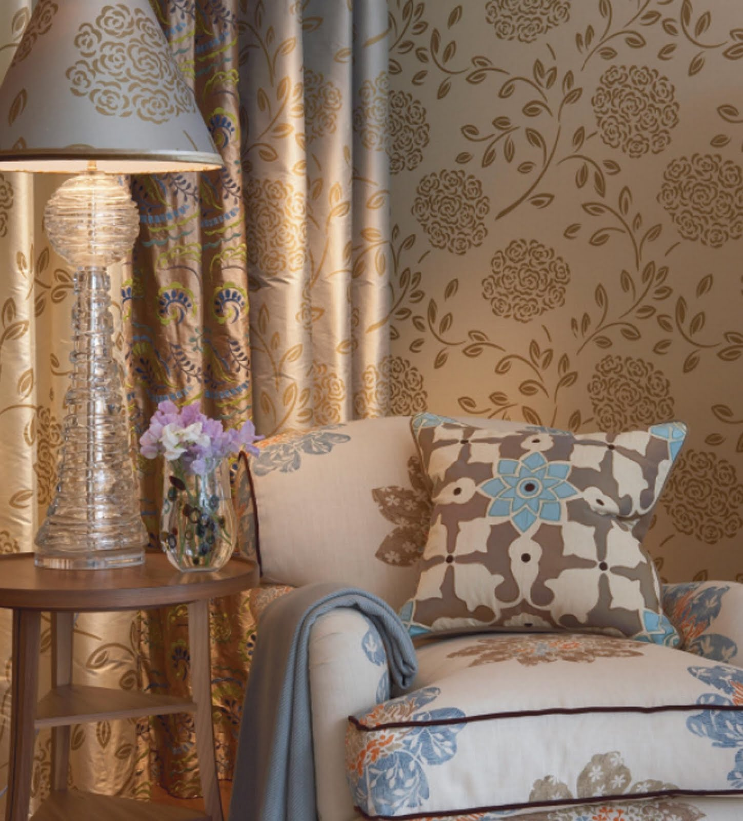 ICON INTERIORS Classic English Country House