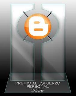 Premio Esfuerzo Personal 09