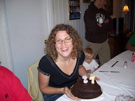 Kristen on her 27th birthday