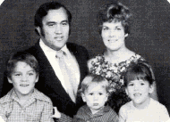 Our family in 1973