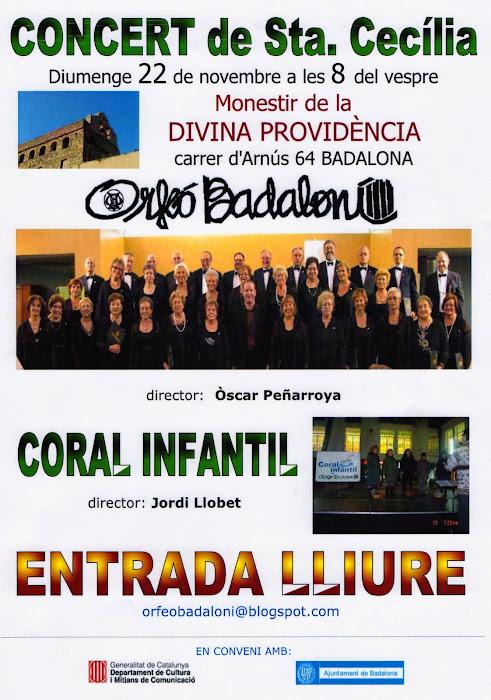 INICIEM TEMPORADA! amb el Concert de Sta. Cecília