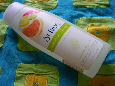 St. Ives Energizing Citrus Moisturizing Body Wash Review