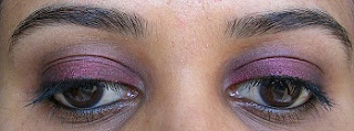 MAC eye shadow Venomous Villains Vainglorious EOTD
