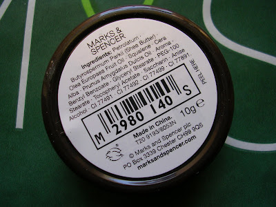 Marks Spencer Shea Nut Lip Butter