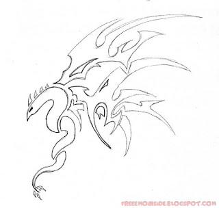 Star Tattoo Sketch
