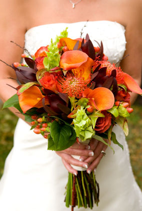 Butterfly Wishes LLC Fall Bridal Bouquets