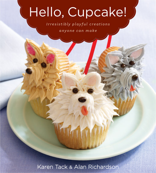 ideas from the books Hello, Cupcake! and What's