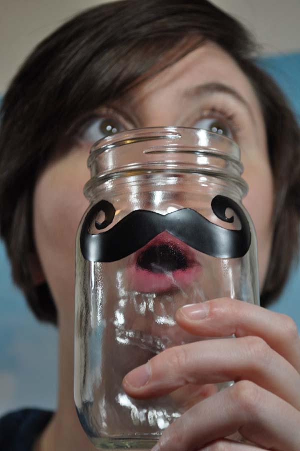 Mustache Glasses