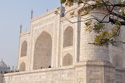 South facade of the Taj Mahal
