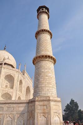 Minaret at the Taj Mahal