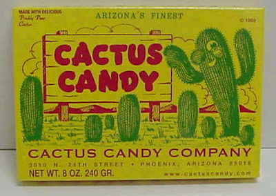 Prickly Pear Cactus Candy