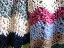Chevron Eyelet Scarf Pattern
