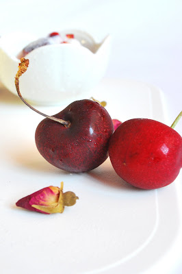 Sweets and Loves: Cherry Rose Coconut Ice Cream