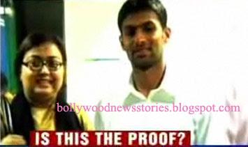 shoaib malik and ayesha siddiqui  Police said Ayesha has alleged