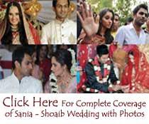 Sania-Shoaib Wedding News & Pics
