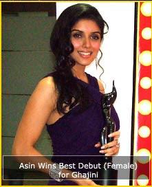 Ganadores de los Filmfare 2009 Asin