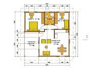 Progetti di case in legno casa 75 mq terrazza coperta 17 mq for Progetti contemporanei di case a pianta aperta