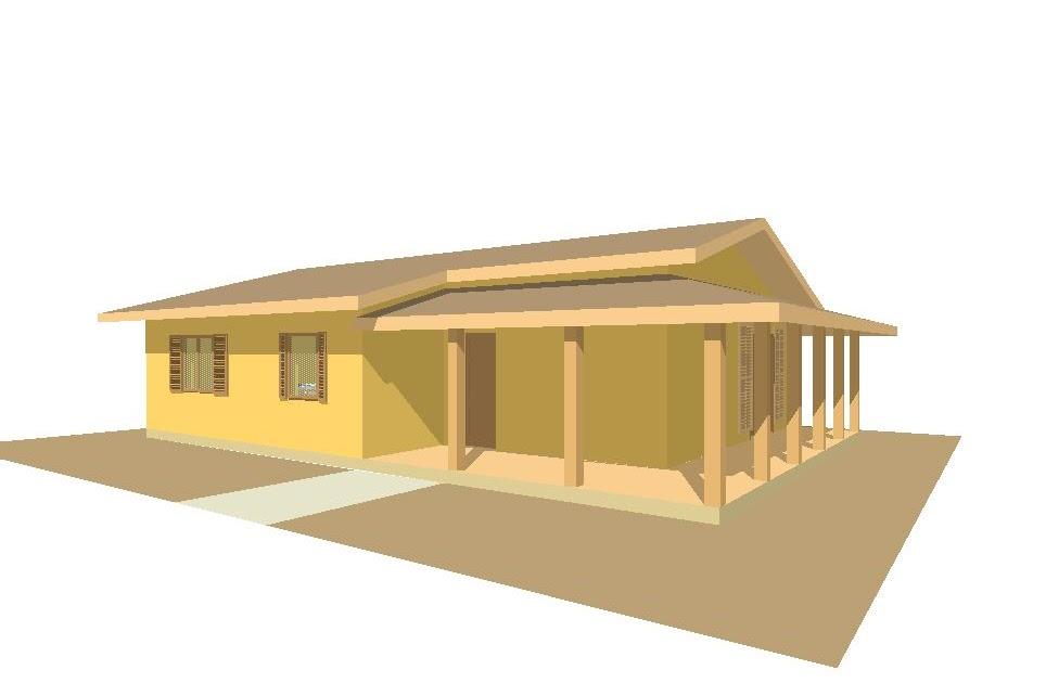 Case prefabbricate casa 100 mq porticati 22 mq for Casa 100 mq