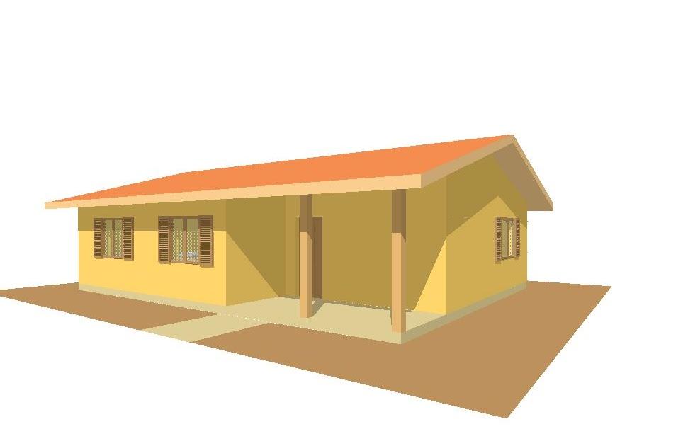 Case prefabbricate casa 100 mq portico 9 mq for Casa 100 mq