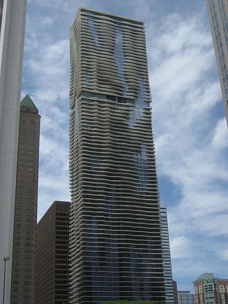 Aqua Tower Designed By Jeanne Gang
