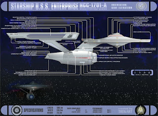 ENTERPRISE NCC-1701-A, The USS Enterprise, The New Enterprise, ENTERPRISE N.C.C, Enterprise