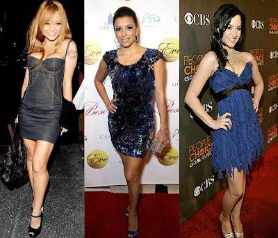 Tila Tequila Eva Longoria Demi Lovato fashion image