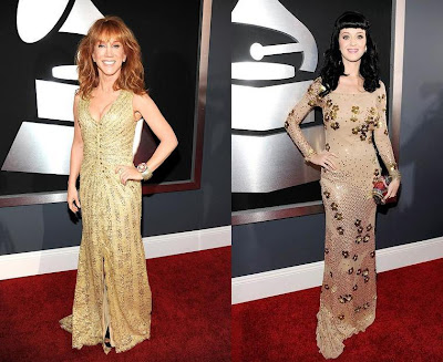 2010 Grammy Kathy Griffin and Katy Perry