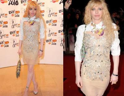 Courtney Love Brit awards