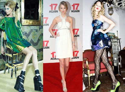 Taylor Swift dress fashion