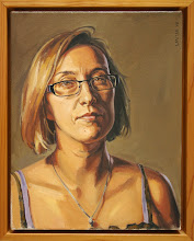 """Christi"", 2008, oil on canvas, 11x14"""