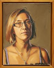 """""""Christi"""", 2008, oil on canvas, 11x14"""""""
