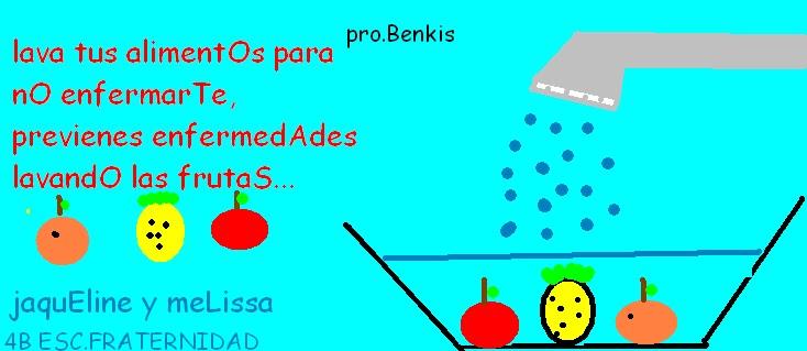 """Proyecto, La salud y la pirámide alimenticia: CARTELES EN PAINT 4 """"B"""""""