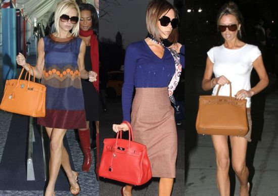 Victoria Beckham geanta hermes birkin