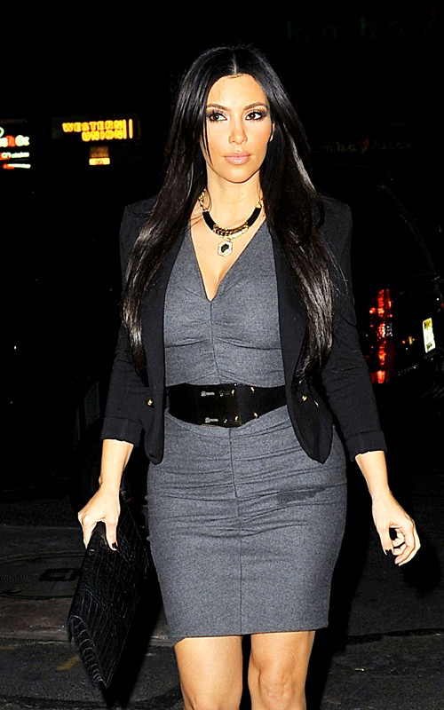 Fashion Beauty Glamour Kim Kardashian In Nyc