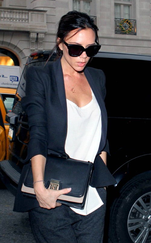 victoria beckham too thin. Victoria Beckham out in NYC