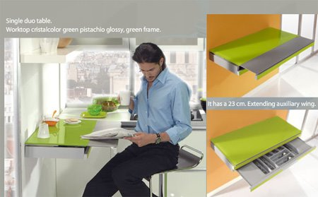 Photo of adjustable table for Kitchen Furniture 3