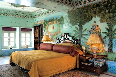 Room and suite of Taj Lake Palace