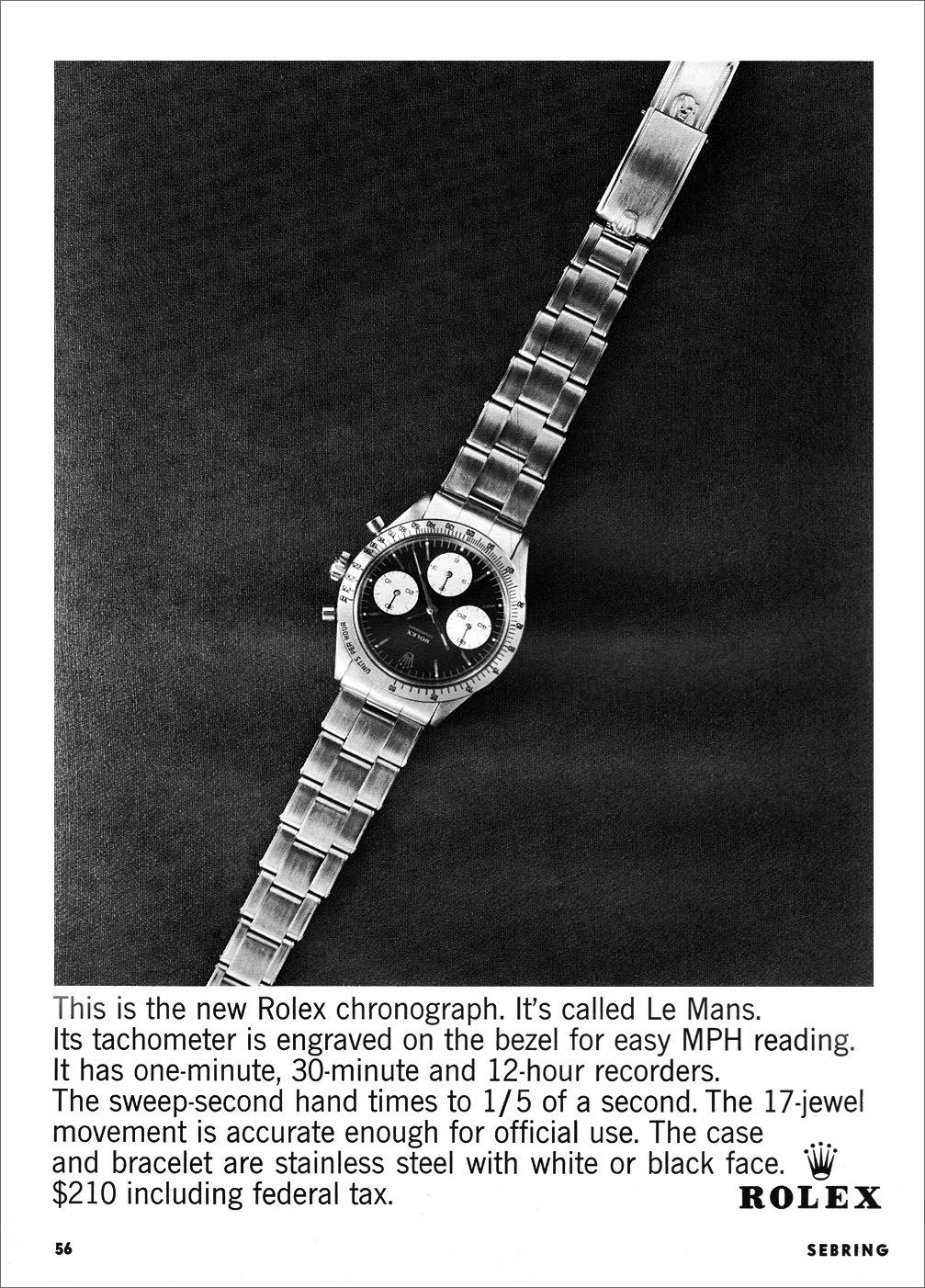 1964 Rolex Le Mans Prototype
