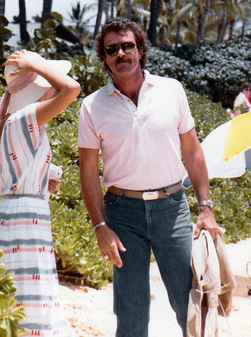 Kevin selleck actor see tom selleck on the set